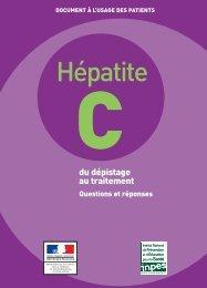 Hépatite C - du dépistage au traitement - questions et réponses - Inpes