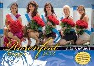 5. bis 7. Juli 2013 - Rosenfest Weggis