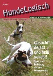 Heft 4/2010 - bei Hunde-logisch.de