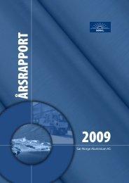 ÅRSRAPPORT - Sør-Norge Aluminium AS