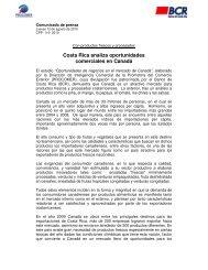 Costa Rica analiza oportunidades comerciales en Canadá - Procomer