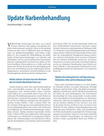 Update Narbenbehandlung - Dr. R. Kaden Verlag