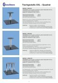 Tischgestelle XXL - Quadrat - Franz Giesselmann Metallwaren ... - Seite 4