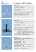 Tischgestelle XXL - Quadrat - Franz Giesselmann Metallwaren ... - Seite 5