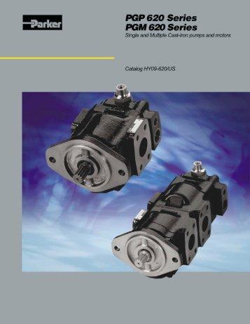 PGP 620 Series/PGM 620 Series - Siebert Hydraulik & Pneumatik