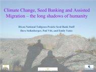 Presentation (PDF) - National Native Seed Conference