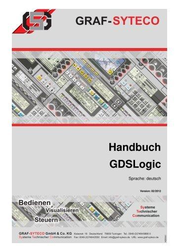 Handbuch GDSLogic - GRAF-SYTECO Visualisierungstechnik
