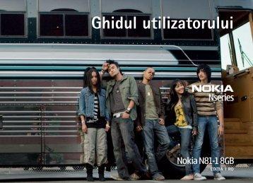 Ghidul utilizatorului - Nokia