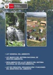 Ley General del Ambiente - CDAM - Ministerio del Ambiente