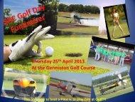 Thursday 25th April 2013 At the Germiston Golf Course