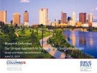 What is Blueprint Columbus? - Sierra Club – Ohio Chapter