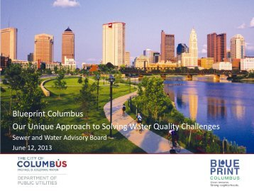 What is Blueprint Columbus? - Sierra Club – Ohio Chapter