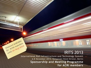 IRITS 2013 - ACRI