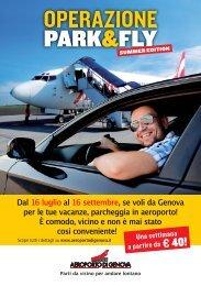 12915 AW Flyer Park A5.indd - Aeroporto di Genova