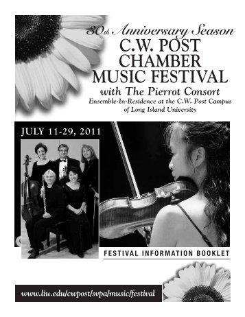 CW Post Chamber Music Festival - Long Island University