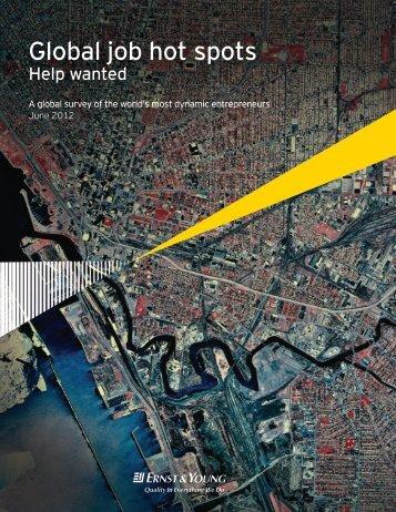Global job hot spots - Wall-Street.ro