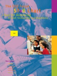 CEO Forum's School Technology and Readiness (STaR) Chart - iMET