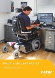 Last ned brosjyre prisforhandlede elrullestoler fra 14. mars 2011 - Etac