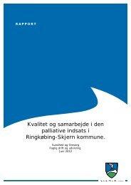 Kvalitet og samarbejde i den palliative indsats.pdf - Ringkøbing ...