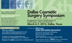 2013 Save the Date Postcard - Dallas Rhinoplasty Symposium - Page 2