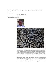 Warming earth - Countercurrents.org