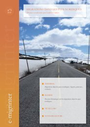 e-migrinter 2010 numéro 05 - Maison des Sciences de l'Homme et ...