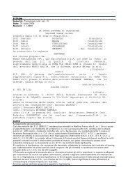 Cassazione civile sez. III, sentenza del 21 luglio 2004, n ... - Territorio
