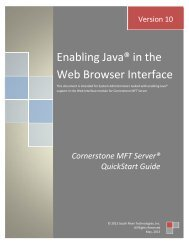 Enabling Java® in the Web Browser Interface - South River ...