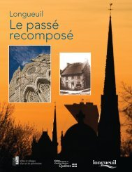 Le passé recomposé - Ville de Longueuil