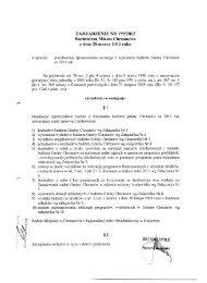 Sprawozdanie roczne z wykonania budżetu Gminy Chrzanów za ...