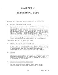 Chapter 5 - Electrical Code - Jacinto City