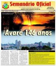 Continua - Câmara Municipal da Estância Turística de Avaré ...