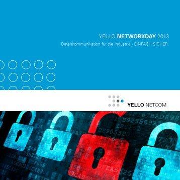 YELLO NETWORKDAY 2013 - Yello NetCom GmbH