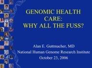 Genomic Health Care - American Nurses Association