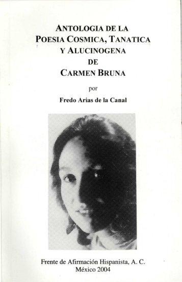 antologia de la poesia cosmica, tanatica y alucinogena de carmen ...