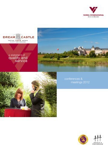 conferences & meetings 2012 - Vienna International Hotels & Resorts