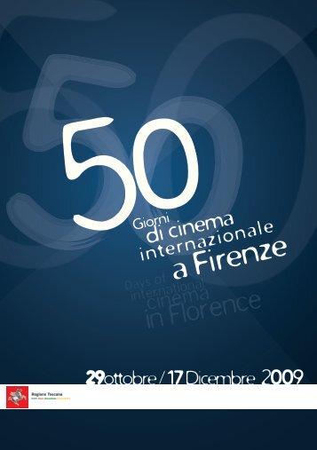 50 Giorni di Cinema Internazionale a Firenze - Mediateca Toscana
