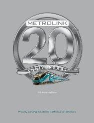 Metrolink 20th Anniversary Report