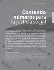 contando números para la justicia social - Revista Docencia
