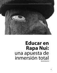 Educar en Rapa Nui: una apuesta de inmersión ... - Revista Docencia
