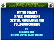 (river) monitoring system/programme and - WEPA