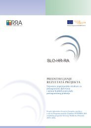 Brošura o rezultatima projekta. - IDA