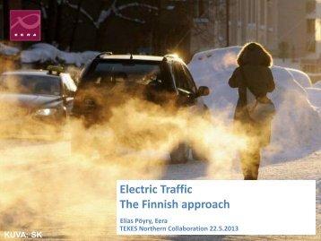 Electric traffic - Tekes