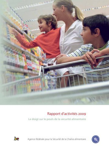 Rapport d'activités 2009 Rapport d 'activités - FAVV