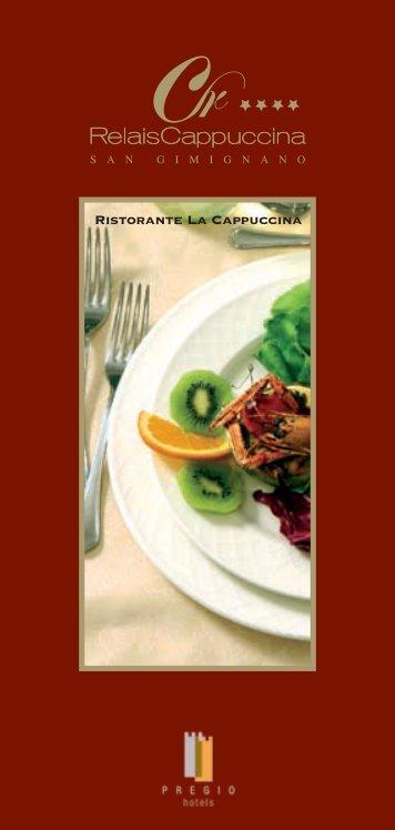 Scarica la brochure informativa del Ristorante di Relais La ...
