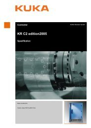 KR C2 edition2005 - KUKA Robotics