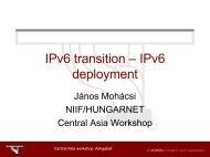 IPv6 transition & deployment - 6Diss
