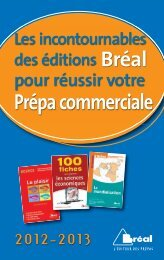 Première année - Editions Bréal