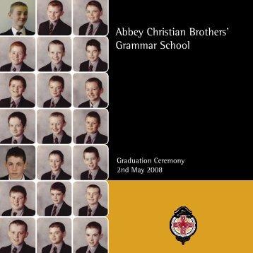 Graduation 2008 - The Abbey Christian Brothers' Grammar School