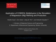 Download Presentation - COMSOL.com